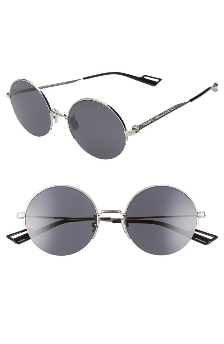 DIOR 53mm Round Sunglasses, Main, color, 033