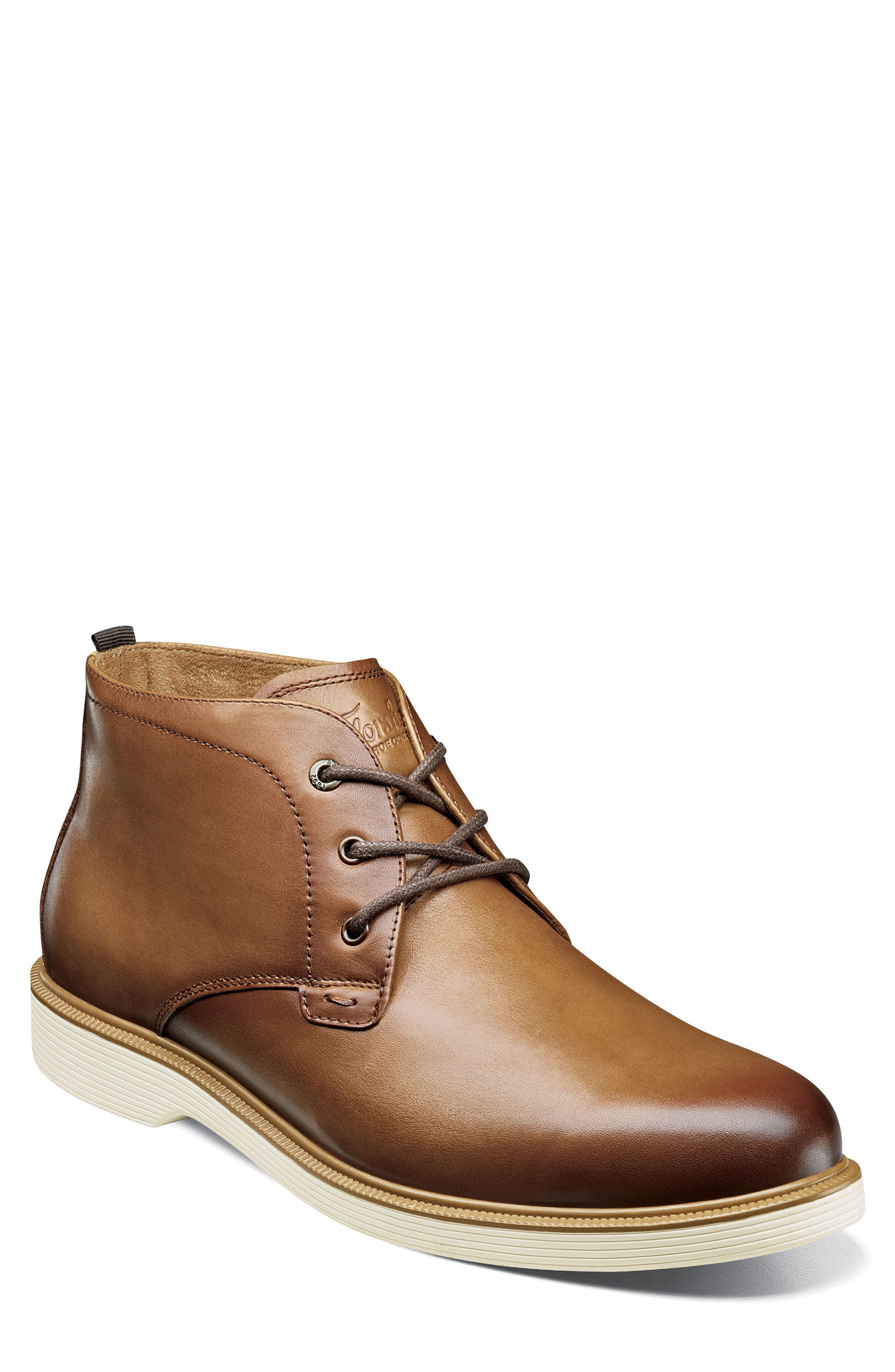Image of Florsheim Supacush Plain Toe Leather Derby