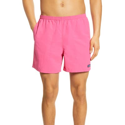 Patagonia Baggies 5-Inch Swim Trunks, Pink