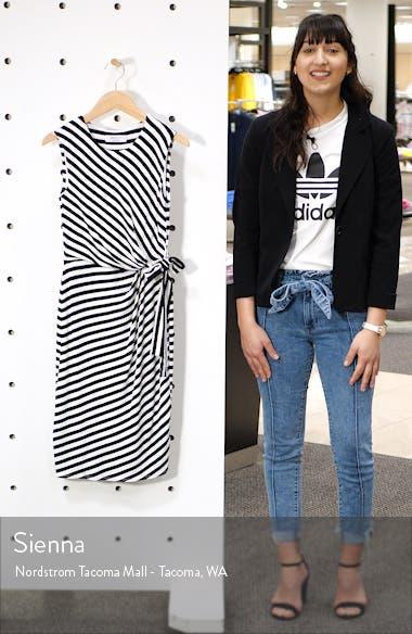 Mandrill Stripe Body-Con Dress, sales video thumbnail