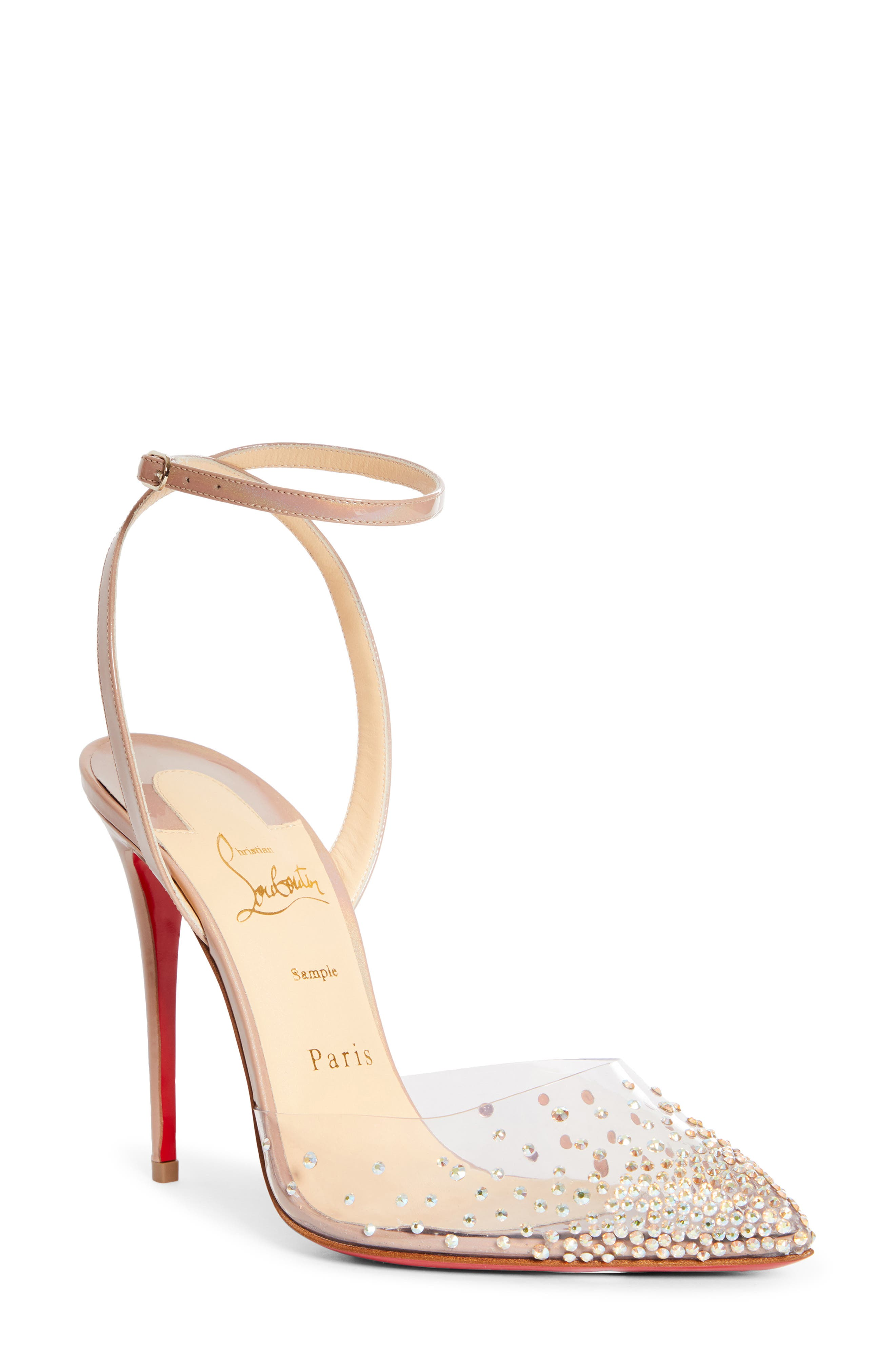 Christian Louboutin Spikaqueen Crystal