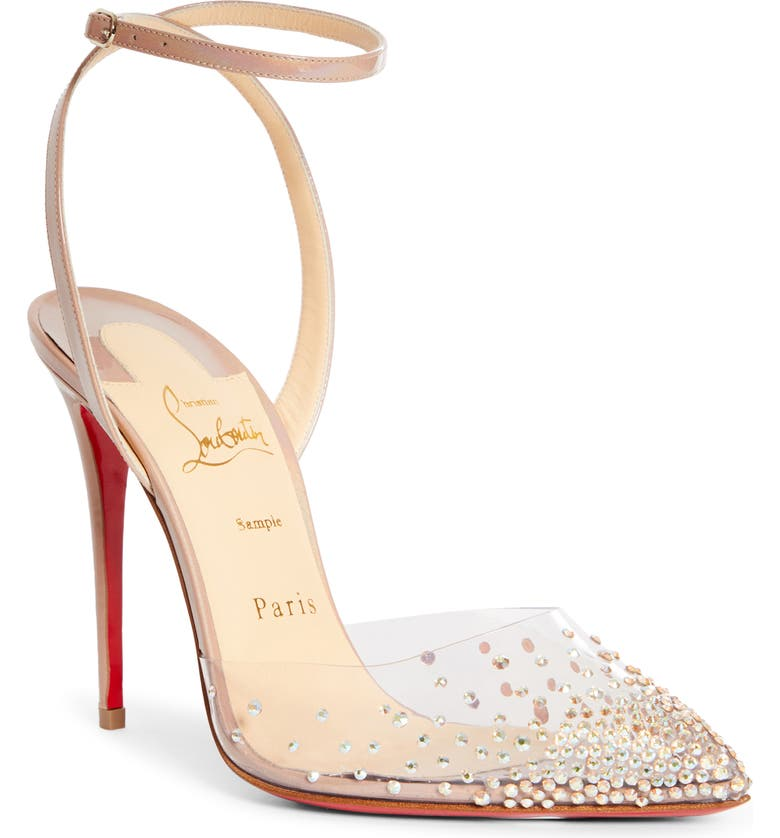 CHRISTIAN LOUBOUTIN Spikaqueen Crystal Pump, Main, color, 251