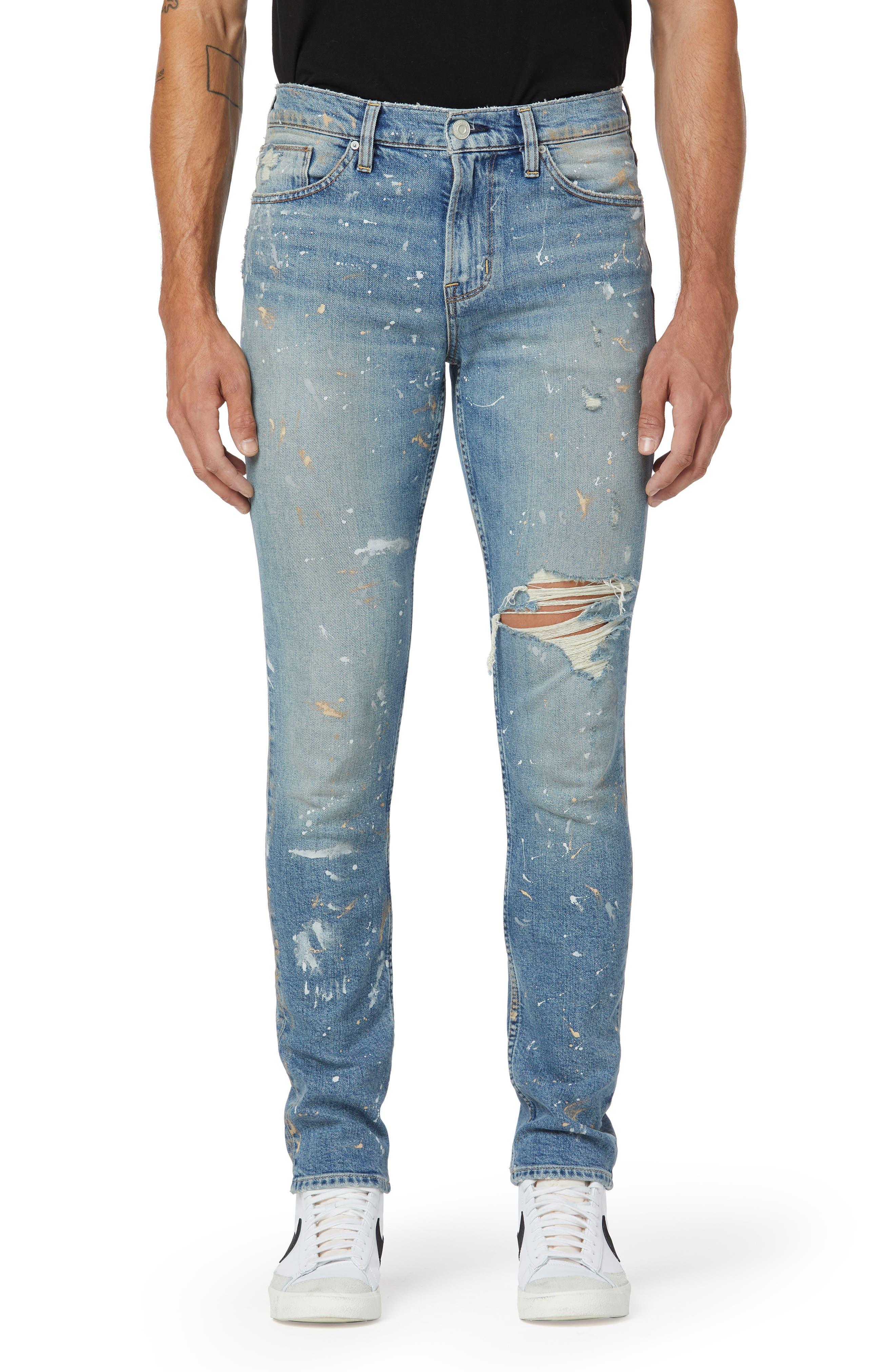Axl Ripped Skinny Fit Jeans