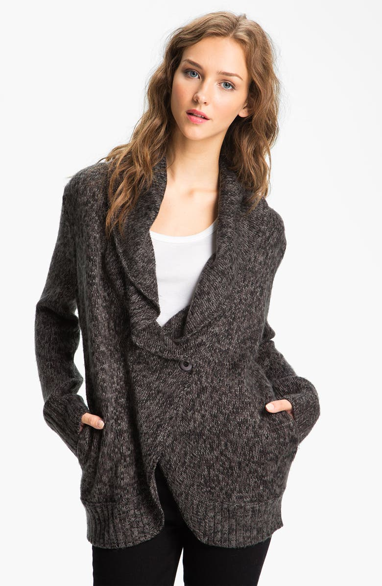 HINGE <sup>®</sup> Shawl Collar Cardigan, Main, color, 001