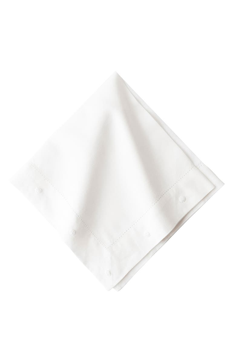 JULISKA Berry Embroidered Napkin, Main, color, 100
