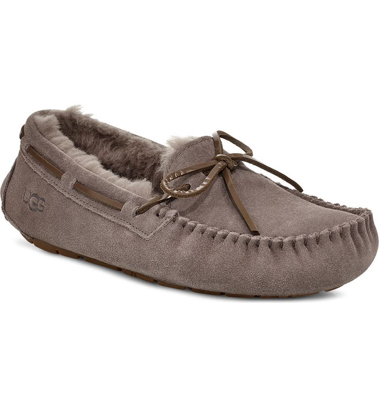 UGG<SUP>®</SUP> Dakota Slipper, Main, color, MOLE SUEDE