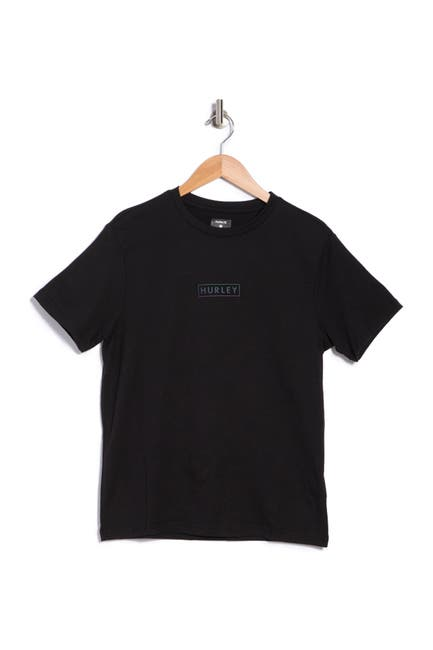 Image of Hurley Graphic Logo Solid T-Shirt