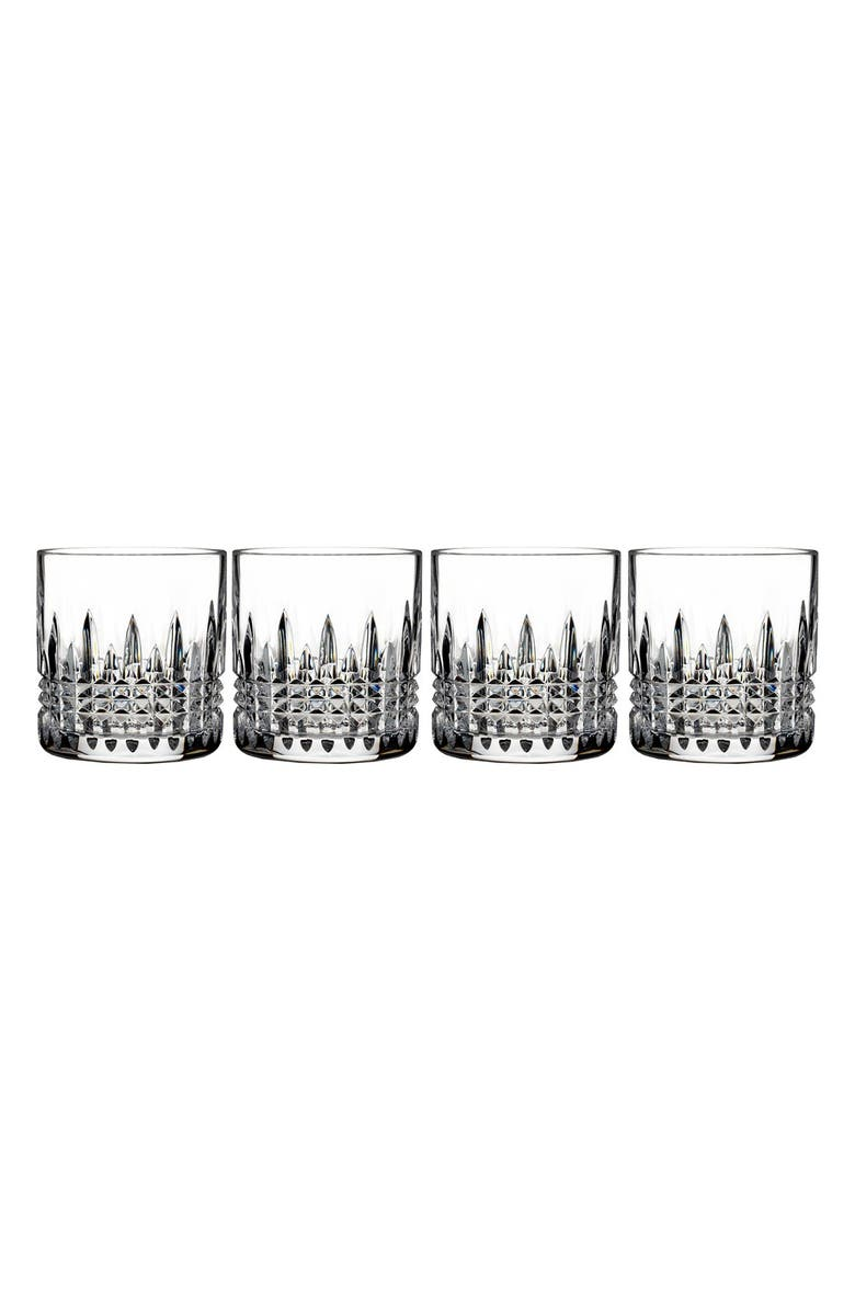 WATERFORD 'Lismore Diamond' Lead Crystal Tumblers, Main, color, CLEAR