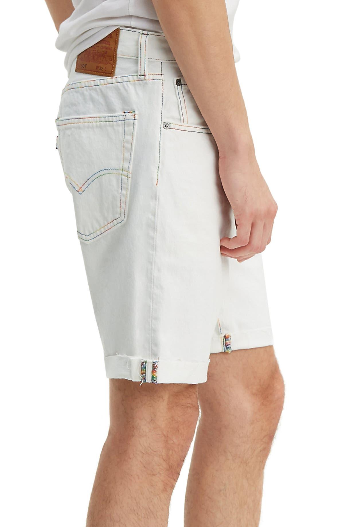 9ecf649d Levi's® 501® Pride Cutoff Denim Shorts (Two Spirit)   Nordstrom