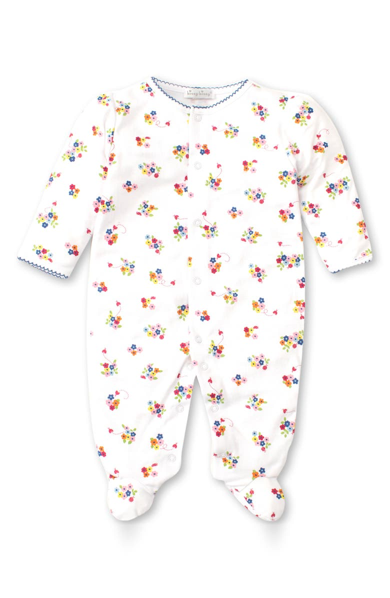 KISSY KISSY Blossoms Footie, Main, color, 100