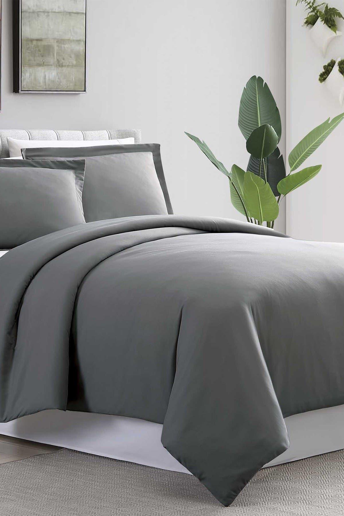 Image of Modern Threads Full/Queen  Ultra Plush Duvet Set - Charcoal