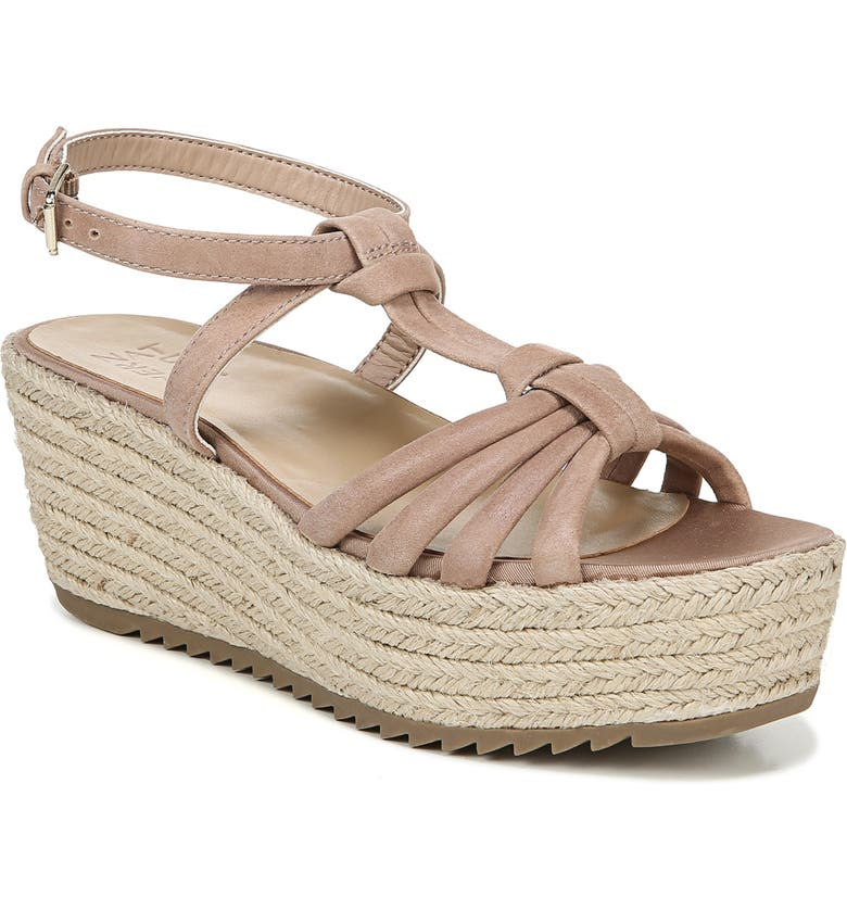 NATURALIZER Odina Espadrille Platform Sandal, Main, color, GINGERSNAP LEATHER