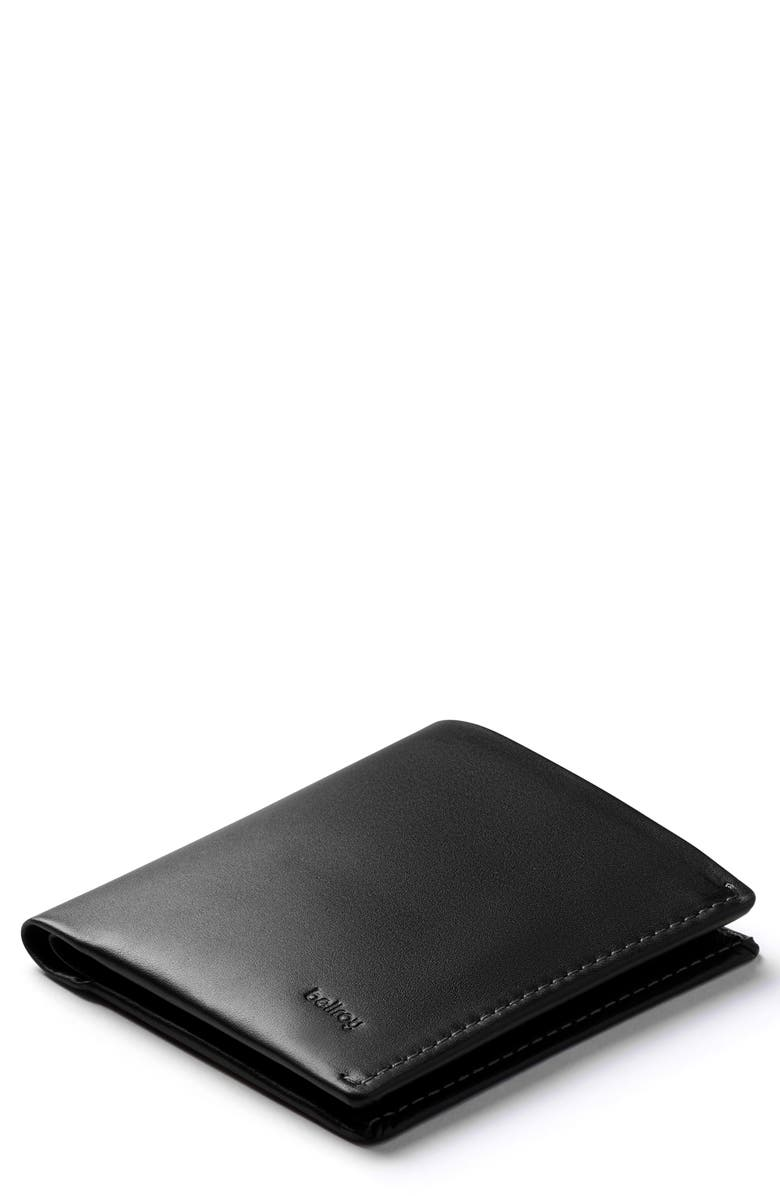 BELLROY Note Sleeve RFID Wallet, Main, color, BLACK