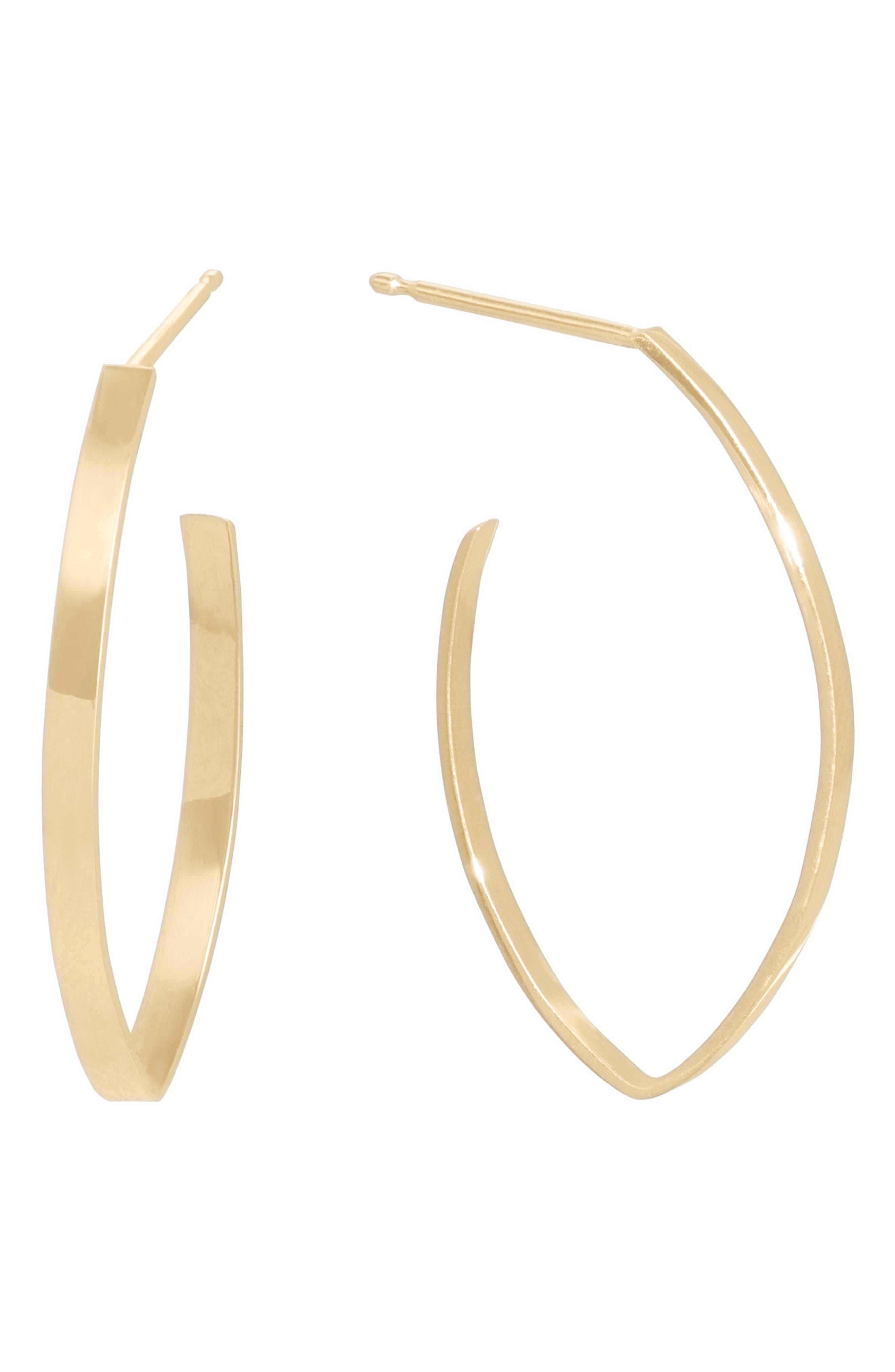 Blake Mini Thick Flat Hoop Earrings