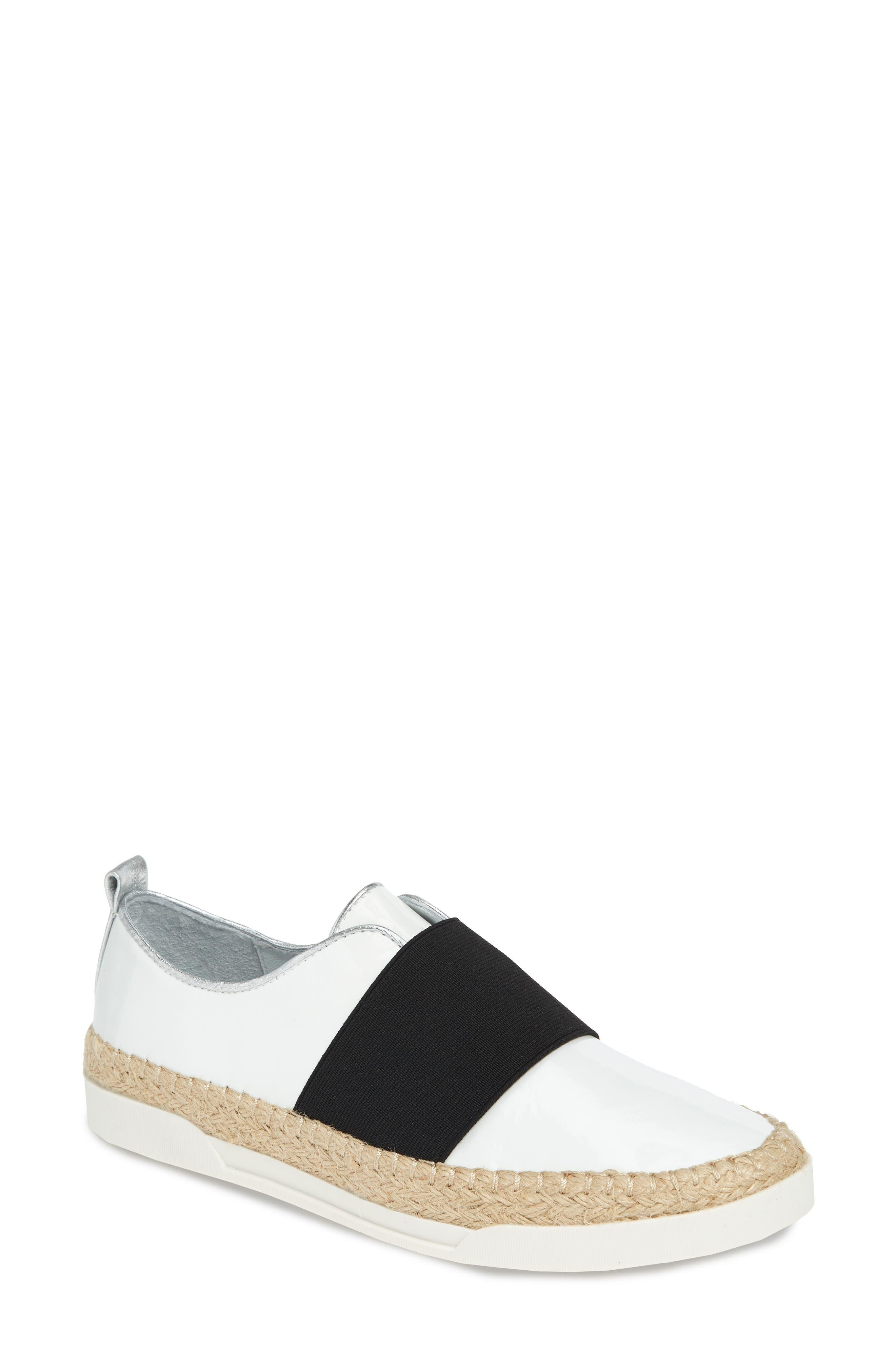 Johnston & Murphy Victoria Slip-On Sneaker- White