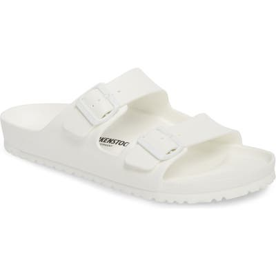 Birkenstock Essentials - Arizona Eva Waterproof Slide Sandal,8.5 - White