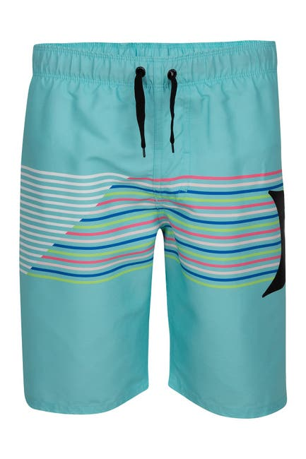 Image of Hurley Splash Striped Swim Trunks