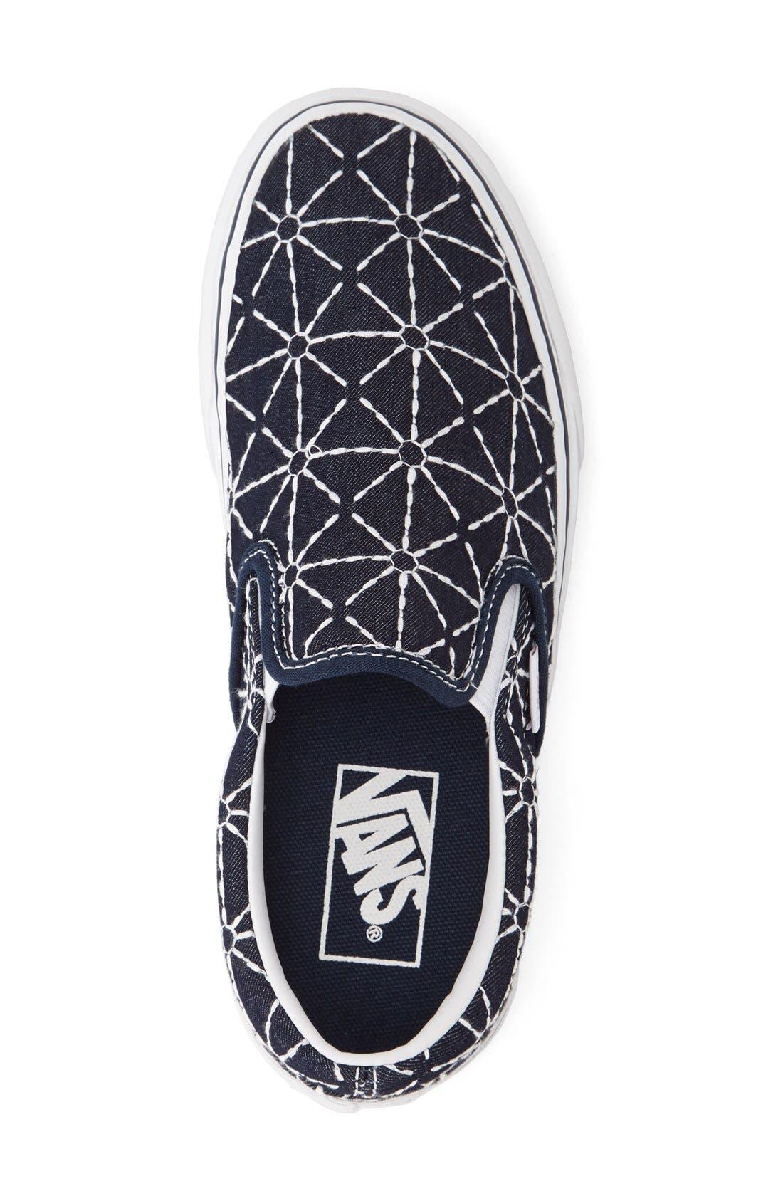 ,                             Classic Slip-On Sneaker,                             Alternate thumbnail 366, color,                             421