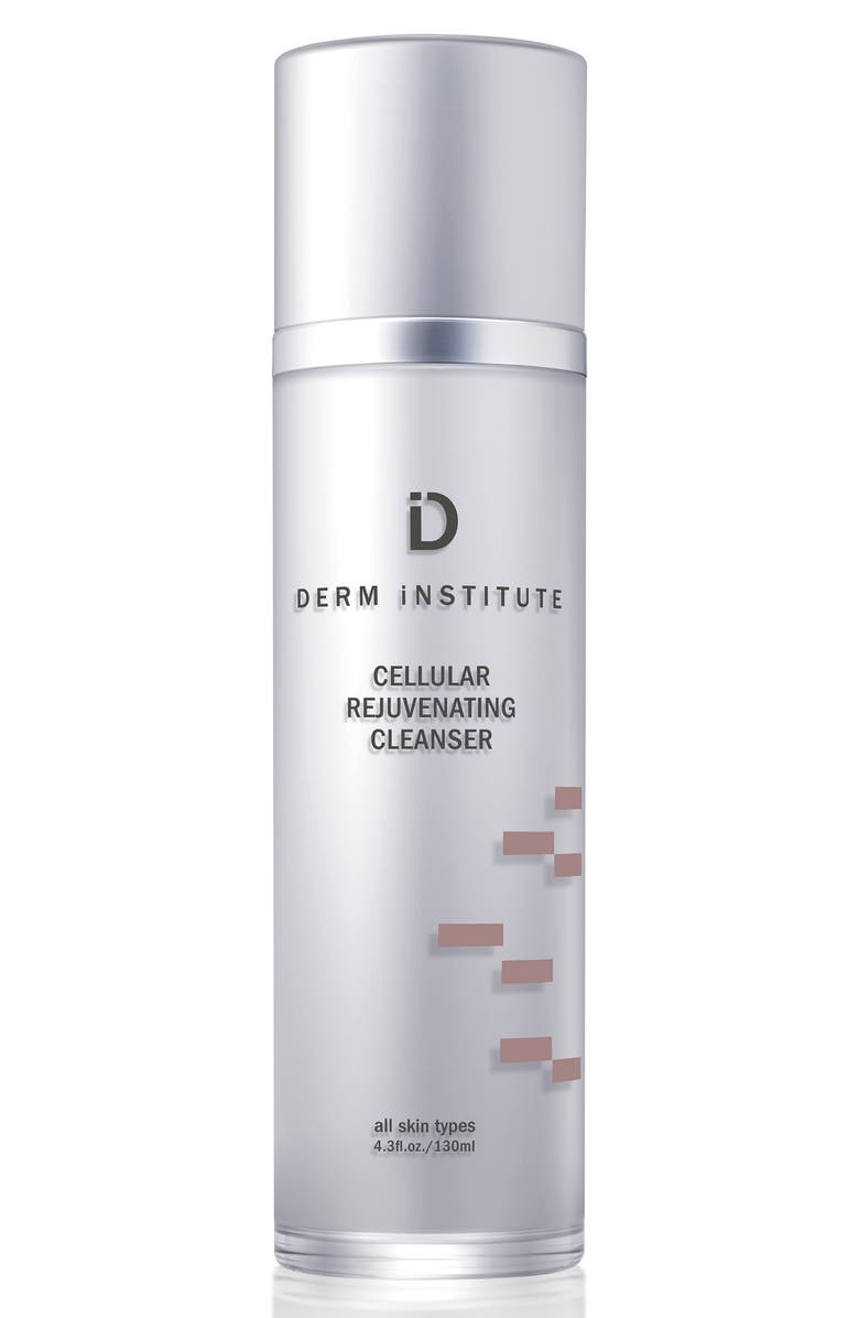DERM INSTITUTE SPACE.NK.apothecary Derm Institute Cellular Rejuvenating Cleanser & Muslin Cloth, Main, color, NO COLOR
