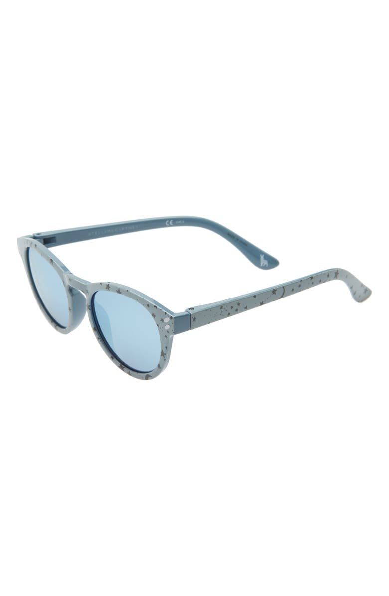 STELLA MCCARTNEY KIDS Stella McCartney 46mm Sunglasses, Main, color, LIGHT BLUE/ LIGHT BLUE S