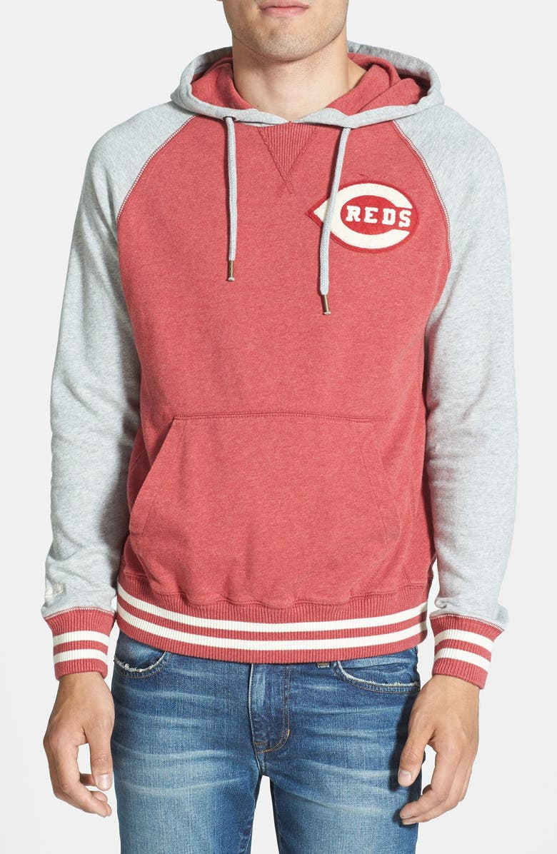 watch bc721 4ffe3 Mitchell & Ness 'Cincinnati Reds - Extra Innings' Pullover ...