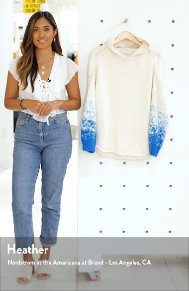 Alvino Balloon Sleeve Hooded Sweater, sales video thumbnail