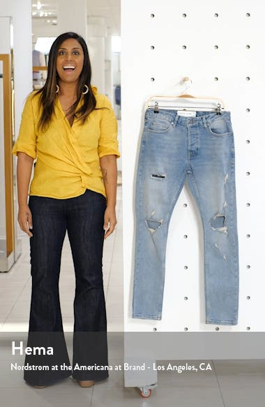 Ripped Stretch Skinny Fit Jeans, sales video thumbnail