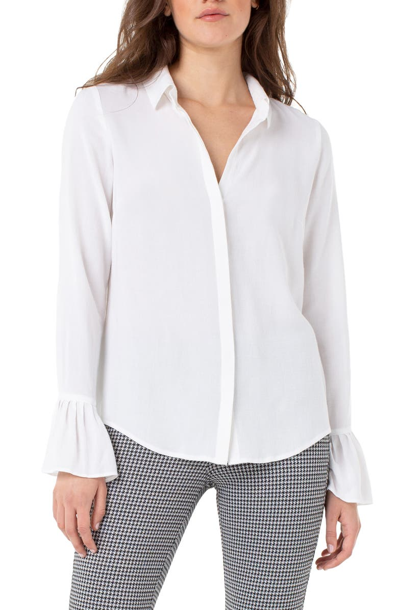 Liverpool Pleated Cuff Shirt