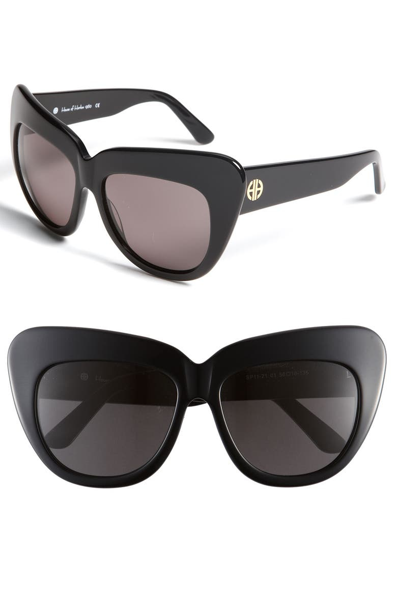 HOUSE OF HARLOW 1960 'Chelsea' Cat's Eye Sunglasses, Main, color, 001