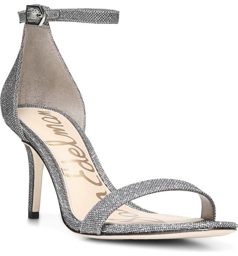 SAM EDELMAN Patti Ankle Strap Sandal, Main, color, 020