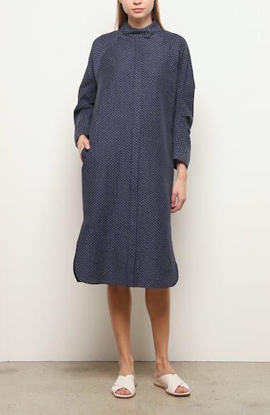 Camisa Cotton Blend Midi Shirtdress, video thumbnail