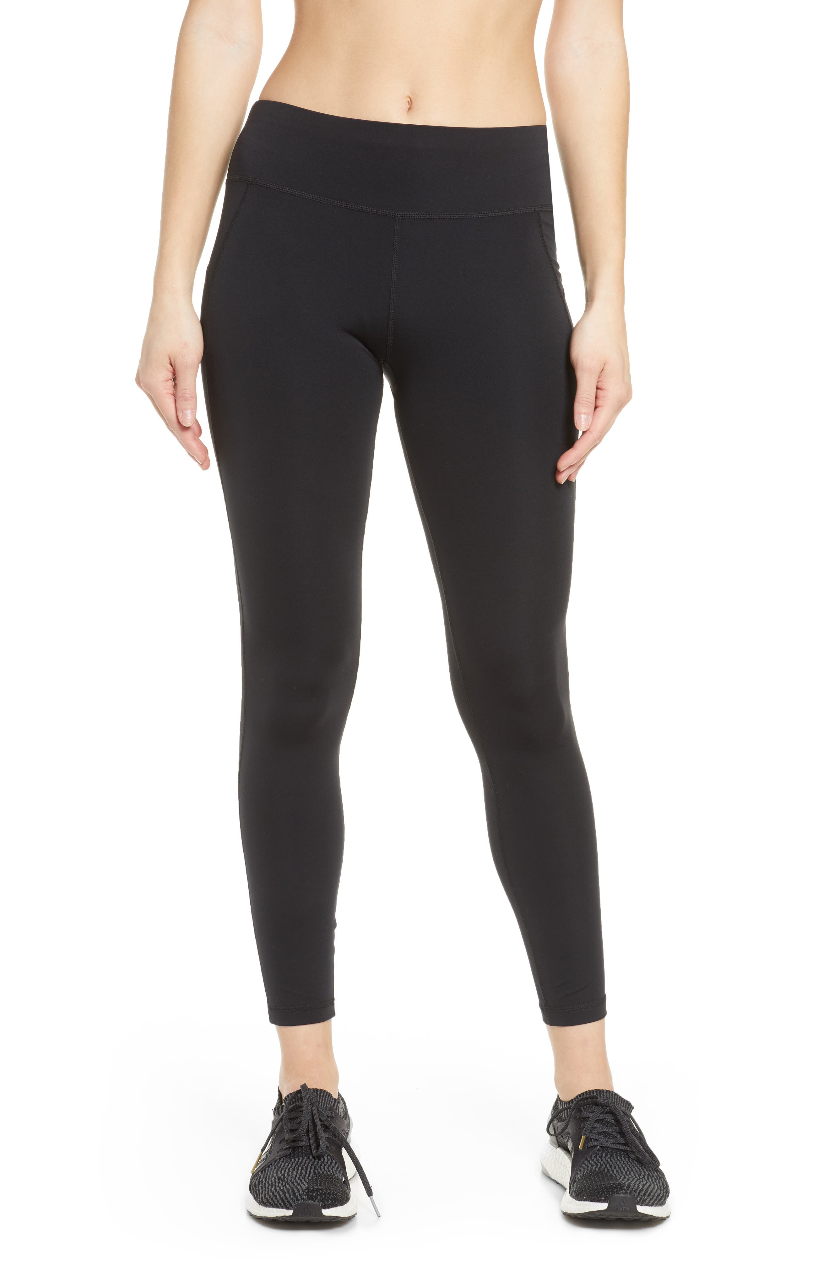 Make these sleek, high-waist leggings with a cool, cropped fit part of your essential workout wardrobe. Style Name: Sweaty Betty Contour Crop Workout Leggings. Style Number: 6019028. Available in stores.