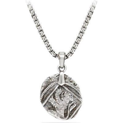 David Yurman Shipwreck Coin Amulet, 2m