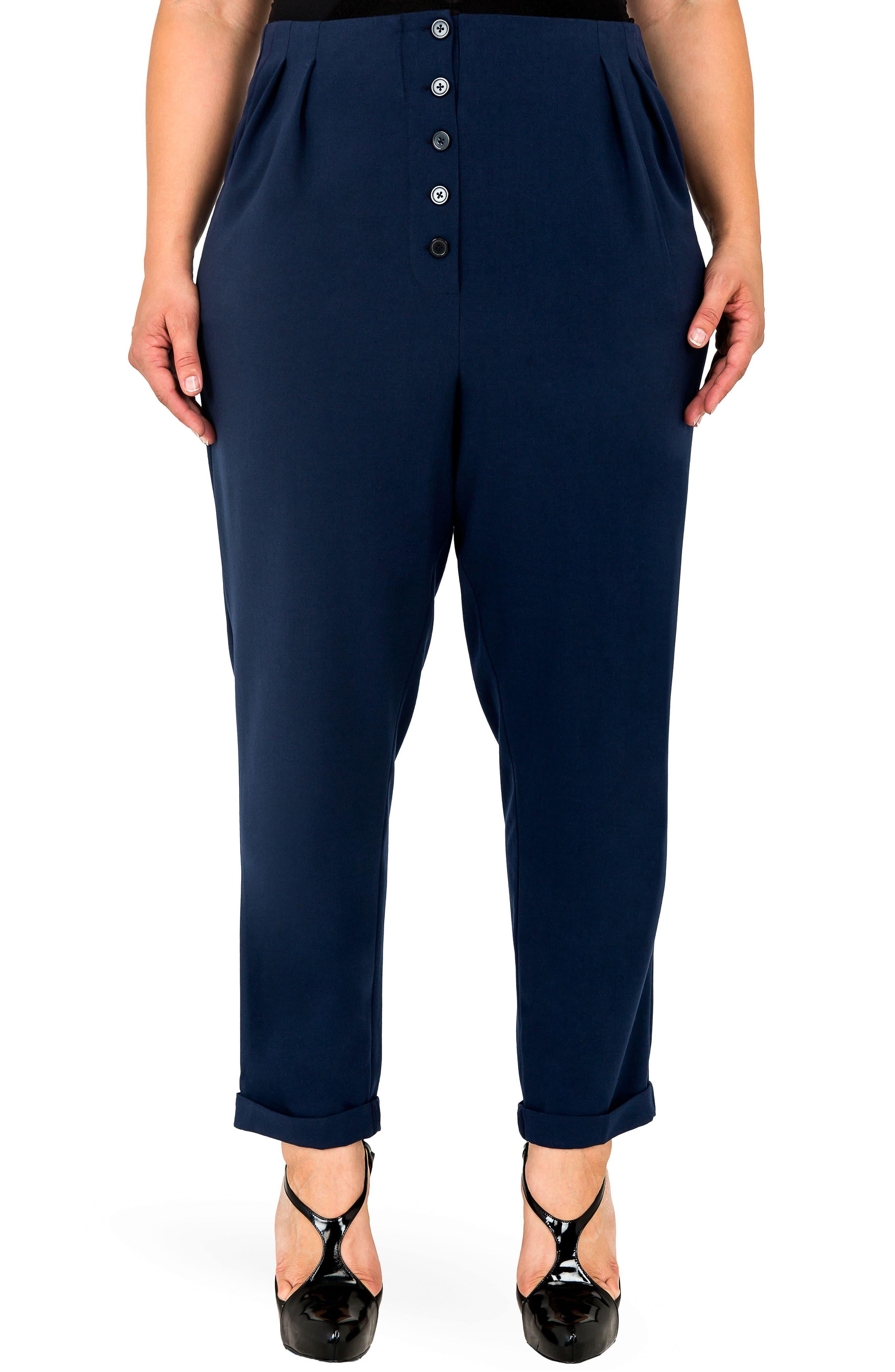 Plus Women's Standards & Practices Francine High Rise Skinny Pants