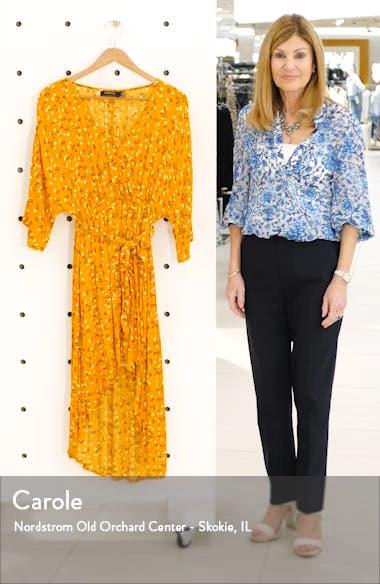 Delicate Daze Floral Print Midi Dress, sales video thumbnail