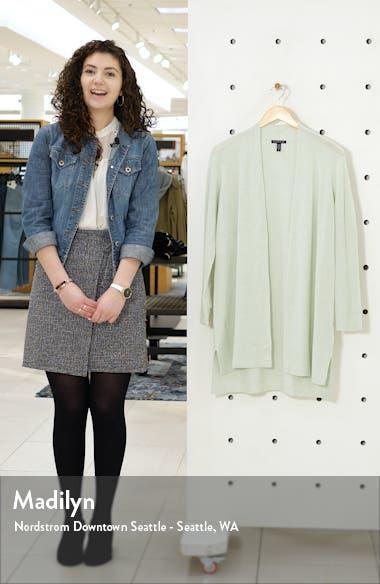 Organic Linen Blend Long Cardigan, sales video thumbnail