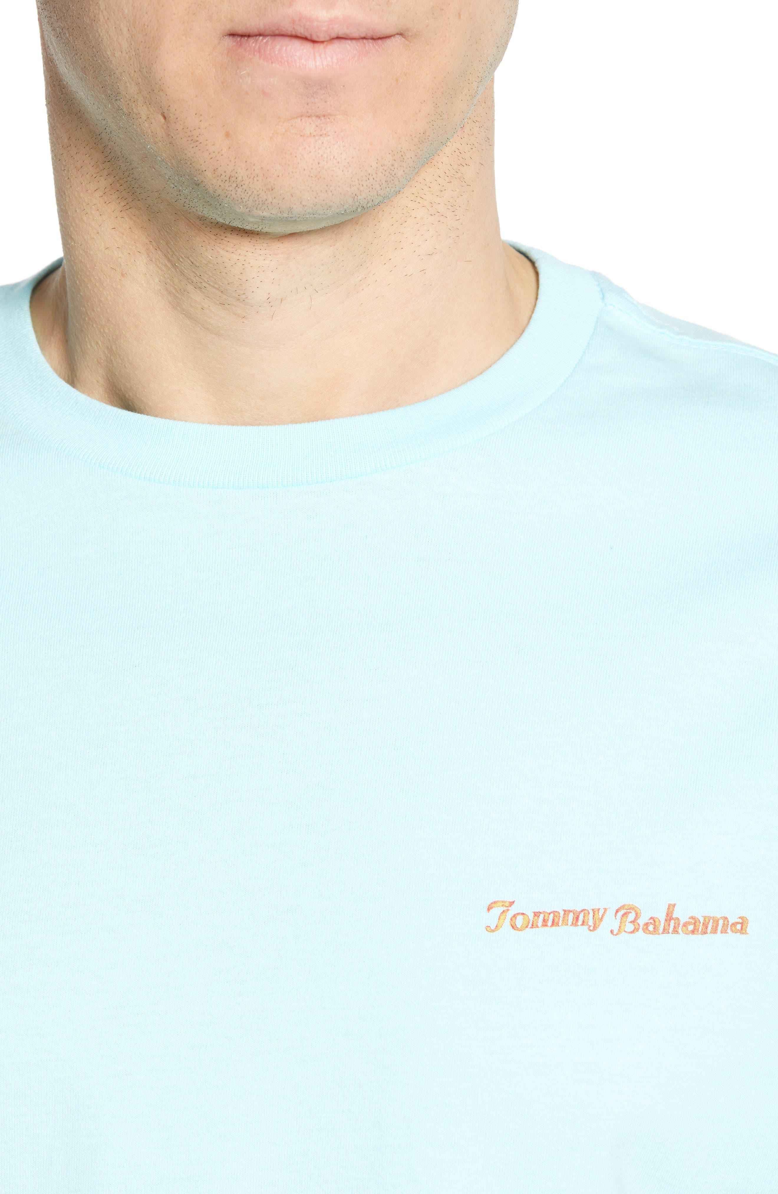 ,                             First on the Board Graphic T-Shirt,                             Alternate thumbnail 4, color,                             SEA SPRITE BLUE