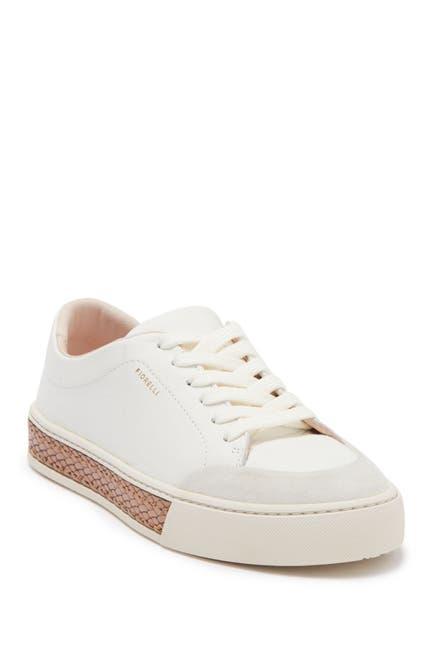 Image of Fiorelli Finley Leather Platform Sneaker