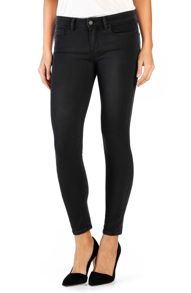 PAIGE 'Transcend - Verdugo' Ankle Skinny Jeans, Main, color, 001