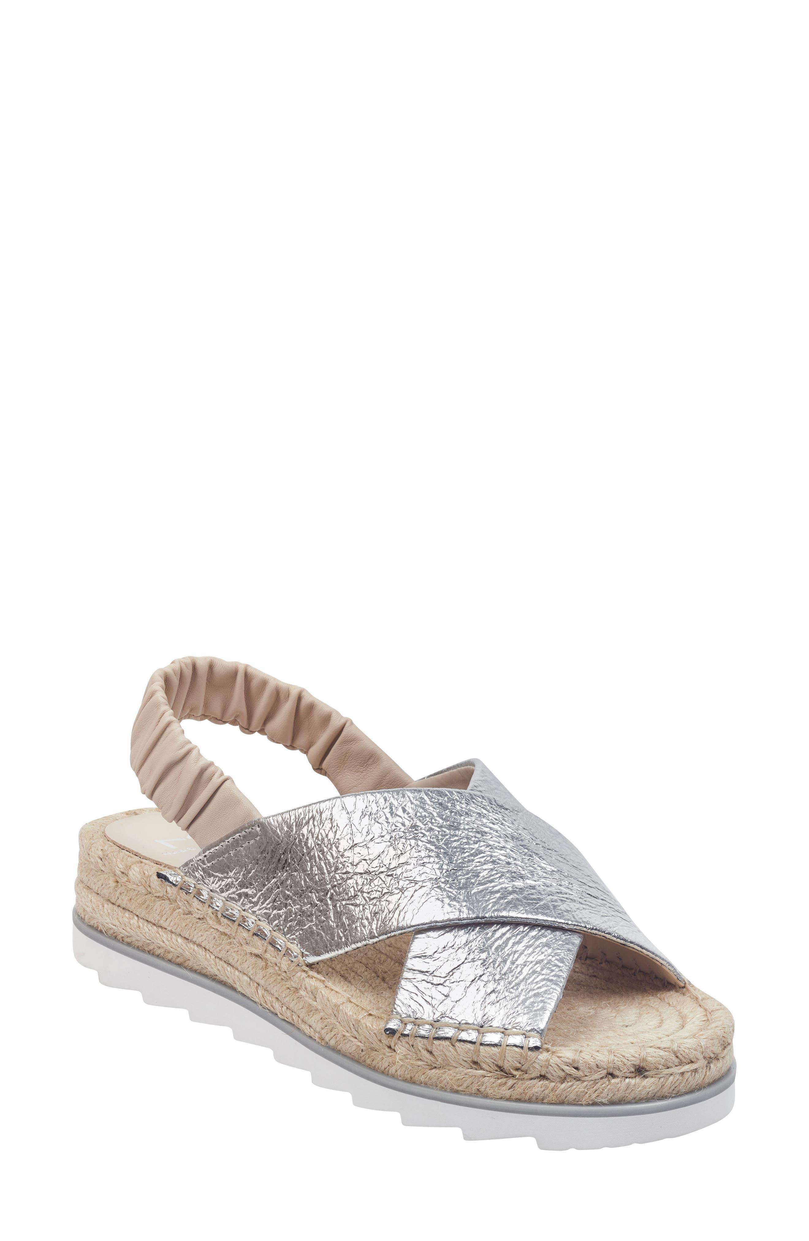 Marc Fisher Ltd Pella Sandal, Metallic