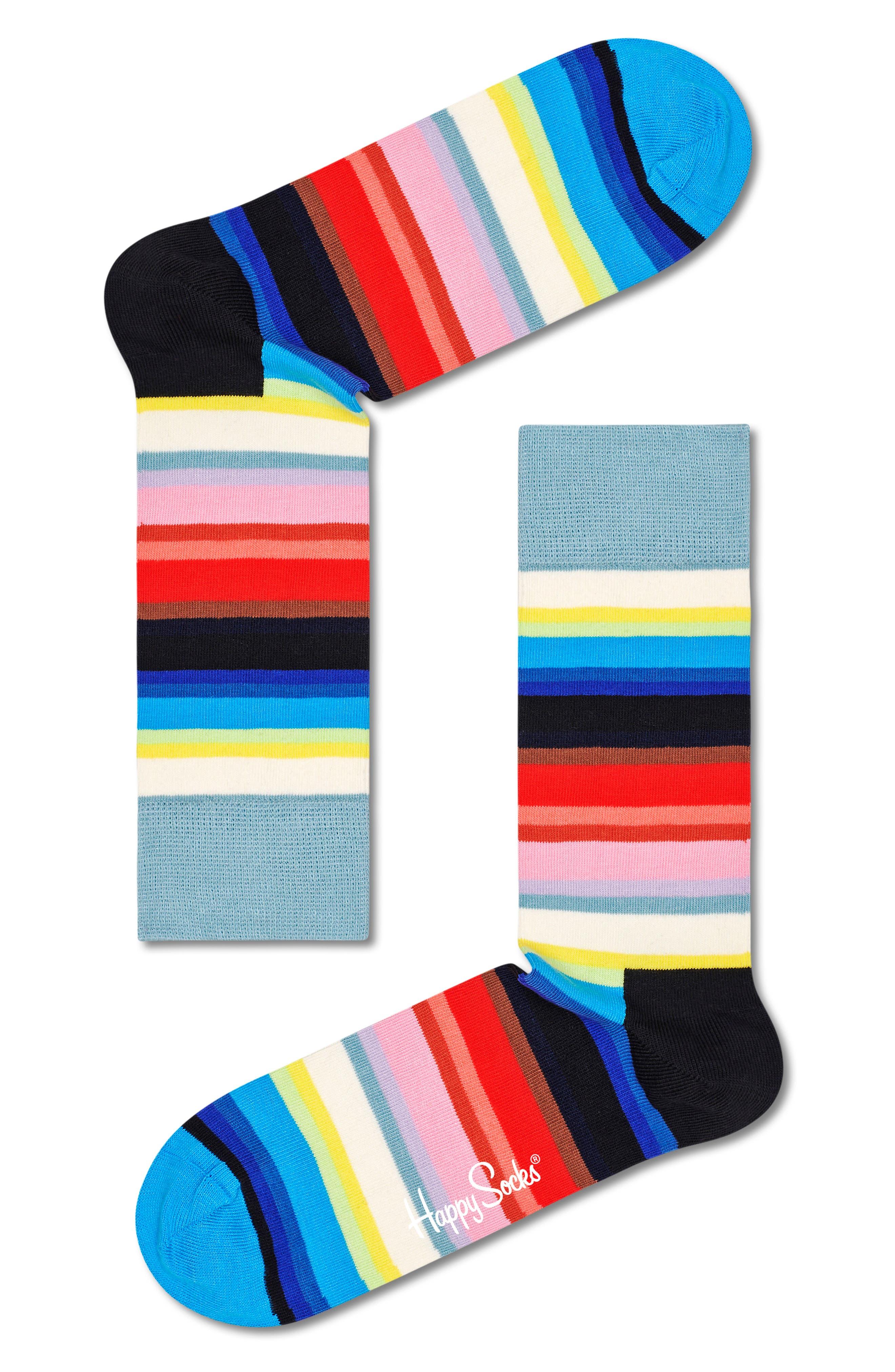 Gradient Crew Socks