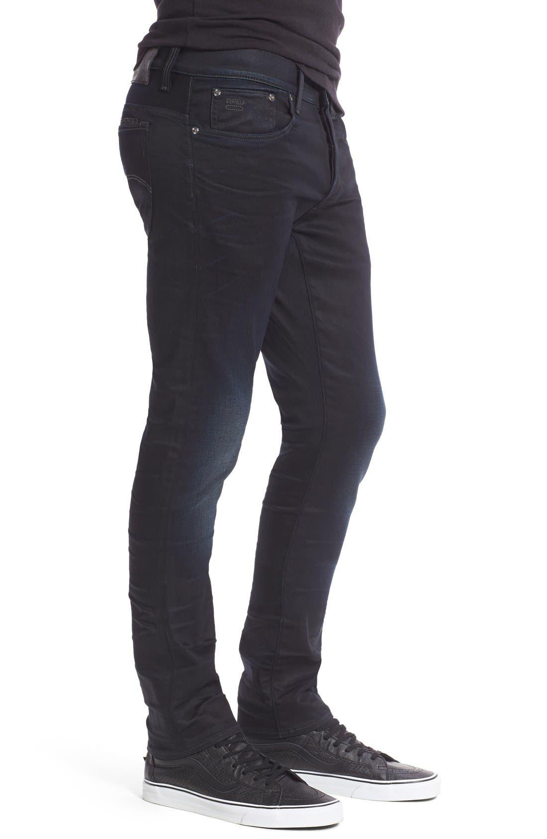 ,                             '3301 Slander' Slim Fit Jeans,                             Alternate thumbnail 3, color,                             404
