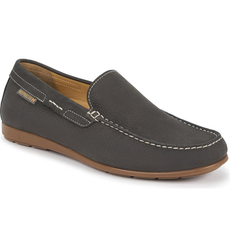 MEPHISTO 'Algoras' Slip-On, Main, color, GRAPHITE SUEDE