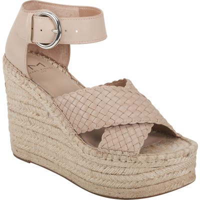 Marc Fisher Ltd Aylon Espadrille Sandal- Beige