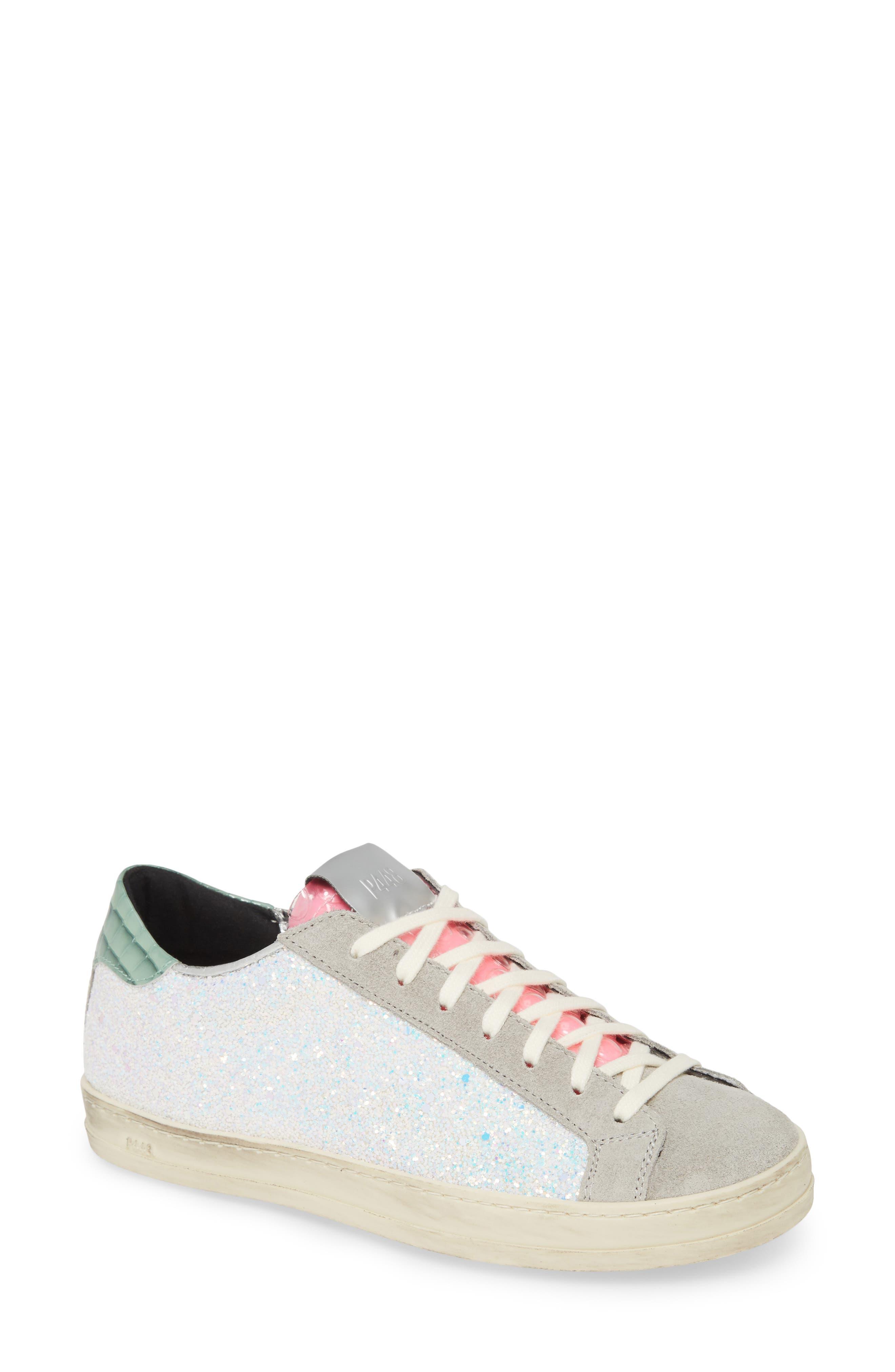 P448 John Glitter Low Top Sneaker