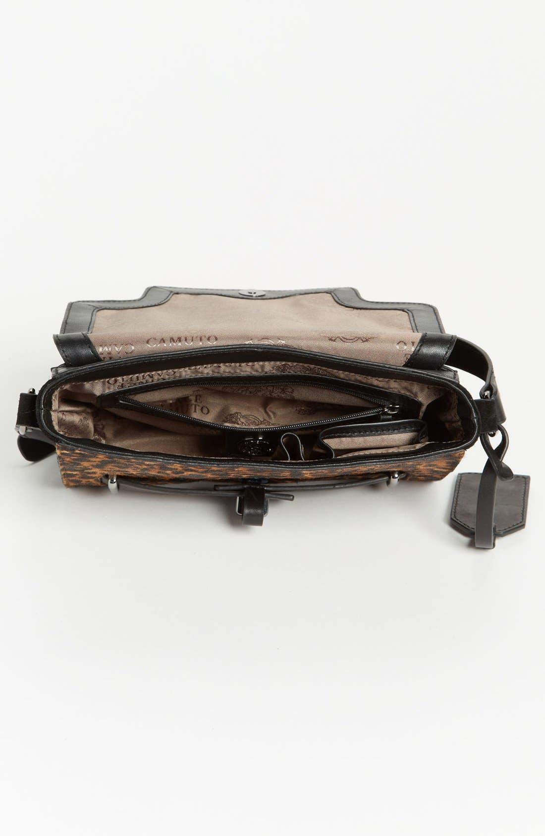 ,                             'Max' Leather Crossbody Bag,                             Alternate thumbnail 6, color,                             019