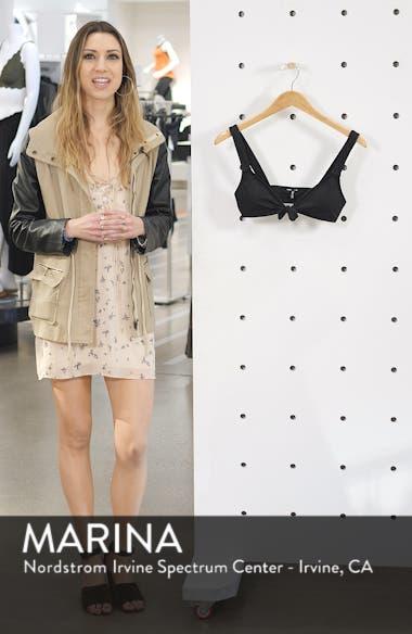 Second Wave Tie Front Bikini Top, sales video thumbnail