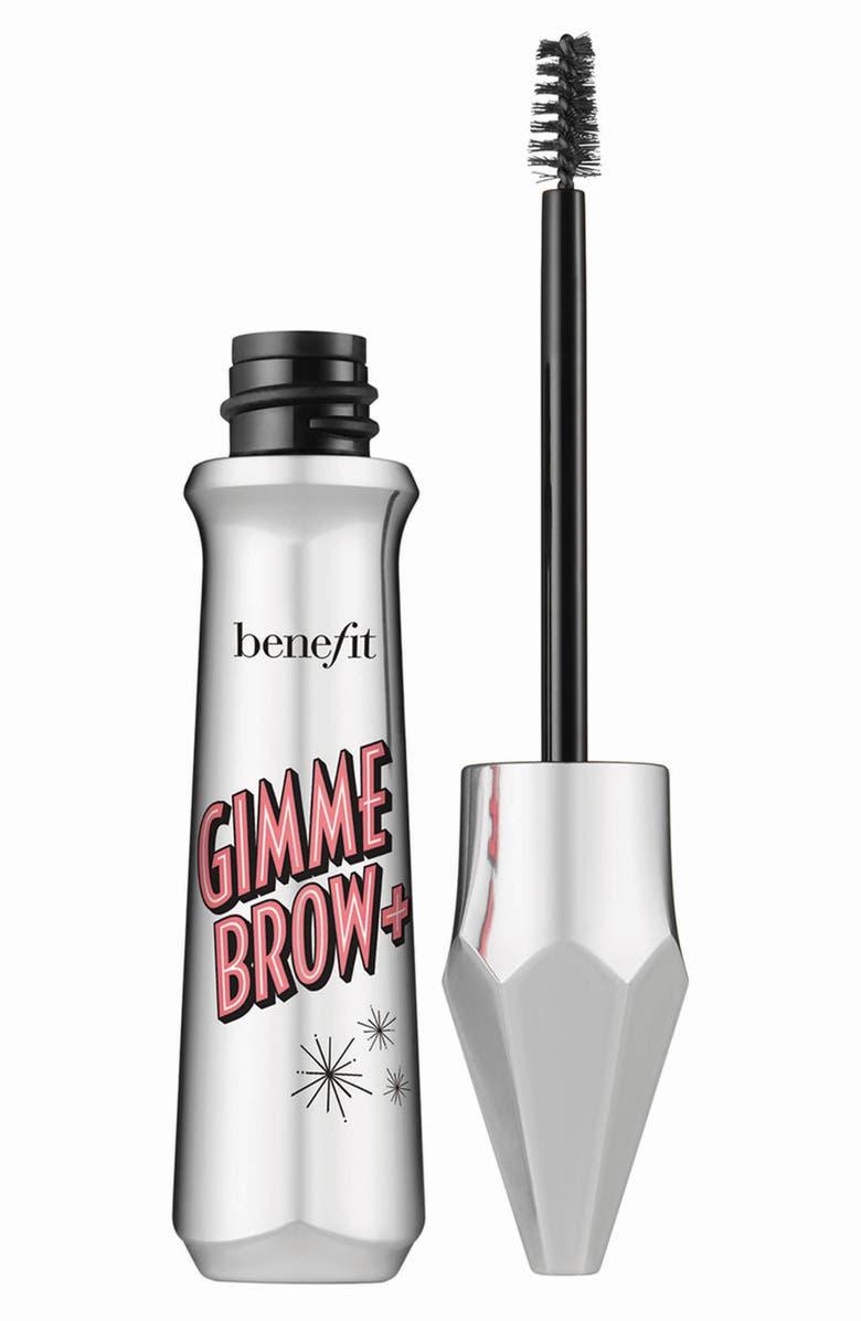 BENEFIT COSMETICS Benefit Gimme Brow+ Volumizing Eyebrow Gel, Main, color, 01 LIGHT/COOL LIGHT BLONDE