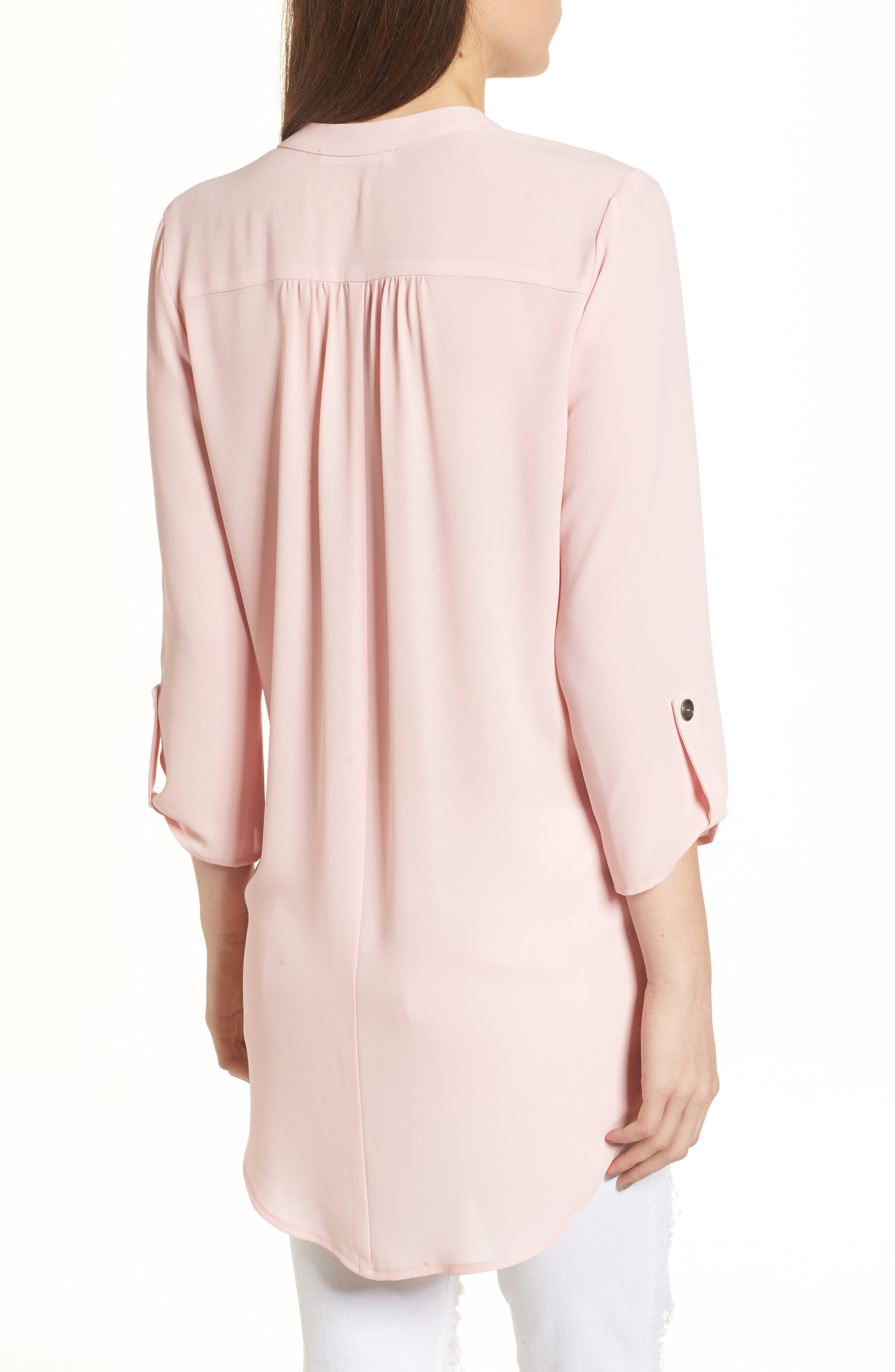 ,                             Perfect Roll Tab Sleeve Tunic,                             Alternate thumbnail 143, color,                             657