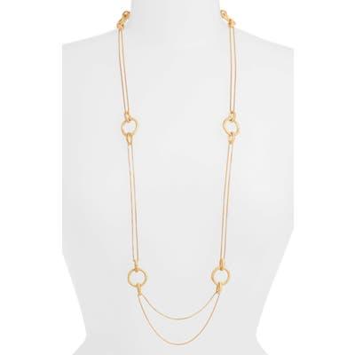 Dean Davidson Bamboo Style Long Necklace